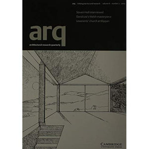 arq: Architectural Research Quarterly: Volume 6, Part 2: v. 6