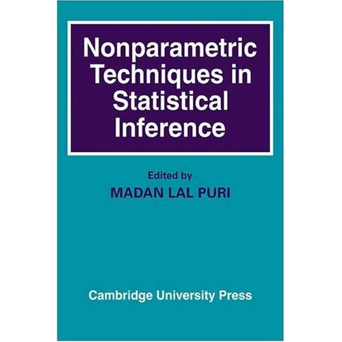 Nonparametric Techniques in Statistical Inference