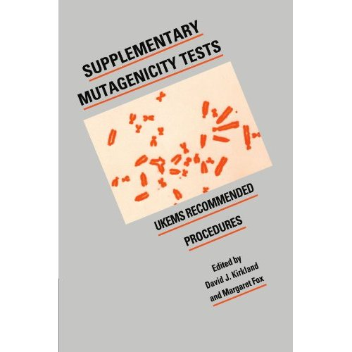 Supplementary Mutagenicity Tests: UKEMS Recommended Procedures