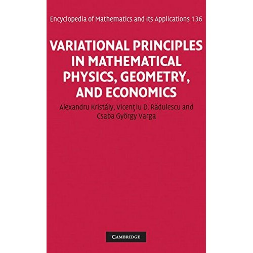 Variational Principles in Mathematical Physics, Geometry, and Economics: Qualitative Analysis of Nonlinear Equations and Unilateral Problems (Encyclopedia of Mathematics and its Applications)