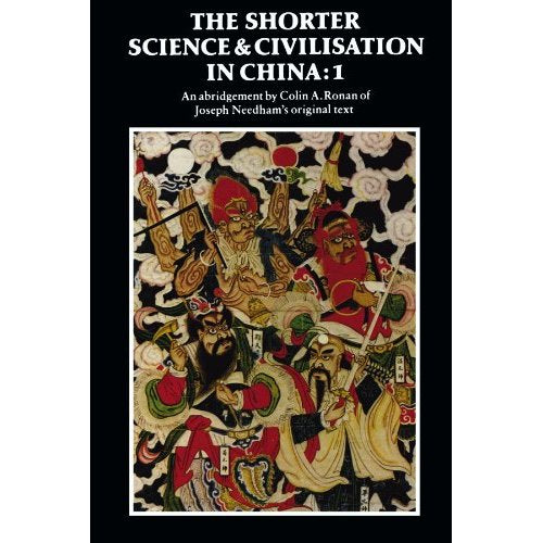 1: The Shorter Science and Civilisation in China: v. 1