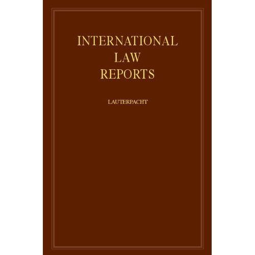 International Law Reports: Volume 63