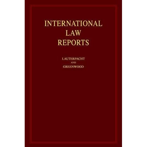 International Law Reports: Volume 71