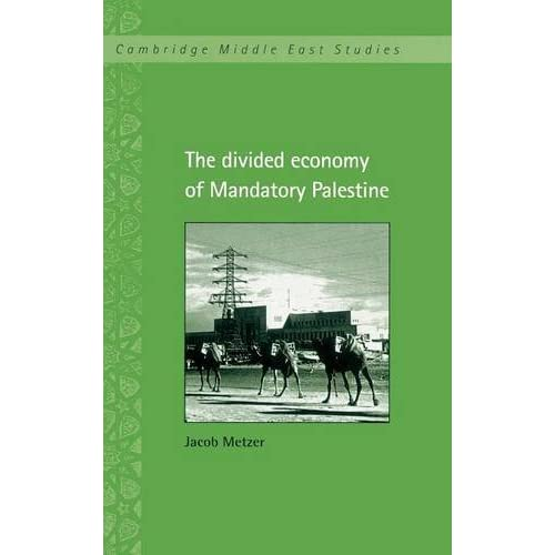 The Divided Economy of Mandatory Palestine (Cambridge Middle East Studies)