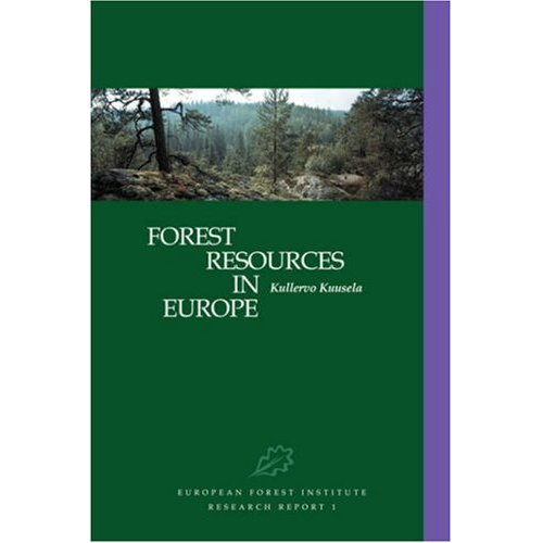 Forest Resources in Europe 1950-1990 (European Forest Institute Research Report, 1)