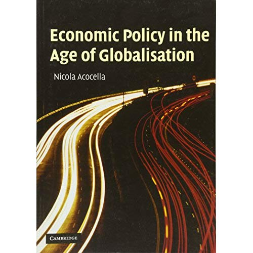 Economic Policy in the Age of Globalisation