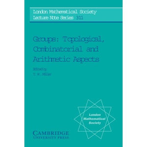 Groups: Topological, Combinatorial and Arithmetic Aspects (London Mathematical Society Lecture Note Series)