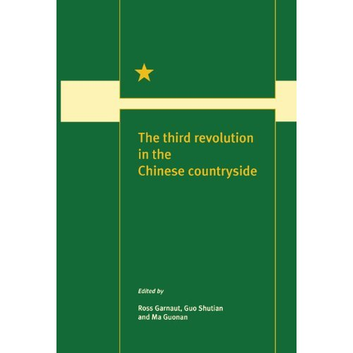 The Third Revolution in the Chinese Countryside