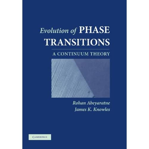 Evolution of Phase Transitions: A Continuum Theory