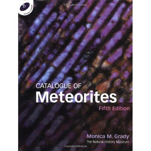 Catalogue of Meteorites Reference Book with CD-ROM