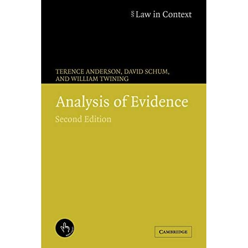 Analysis of Evidence (Law in Context)