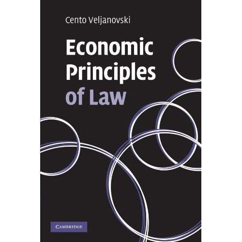 Economic Principles of Law (Law in Context S.)