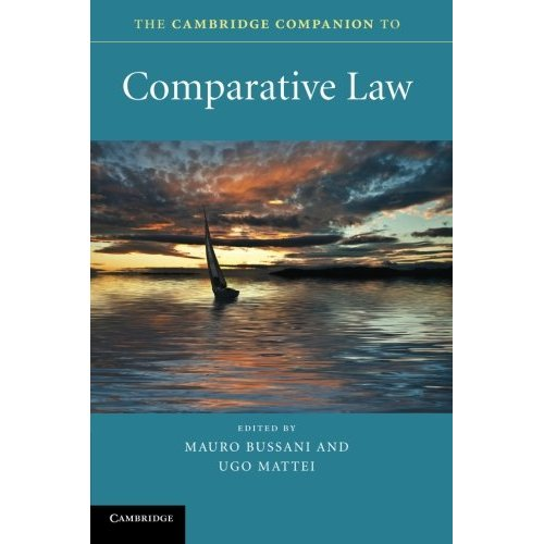 The Cambridge Companion to Comparative Law (Cambridge Companions to Law)
