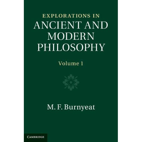 Explorations in Ancient and Modern Philosophy: Volume 1