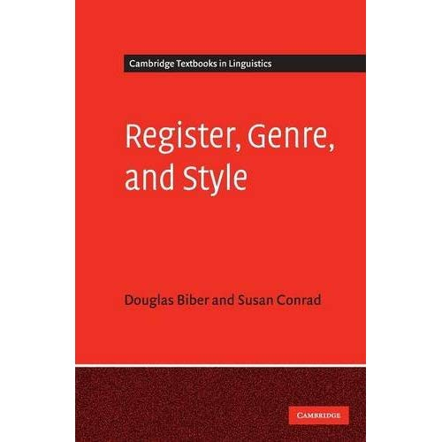 Register, Genre, and Style (Cambridge Textbooks in Linguistics)
