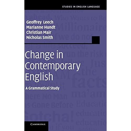 Change in Contemporary English (Studies in English Language)