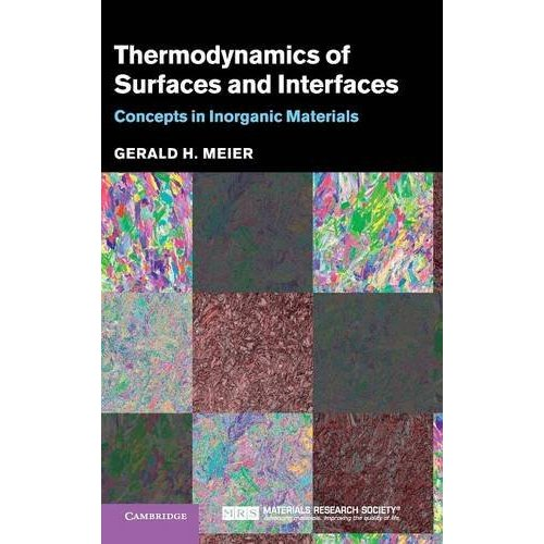 Thermodynamics of Surfaces and Interfaces: Concepts in Inorganic Materials