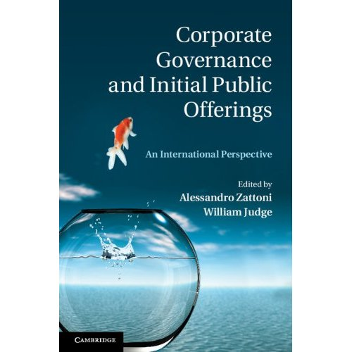 Corporate Governance and Initial Public Offerings: An International Perspective