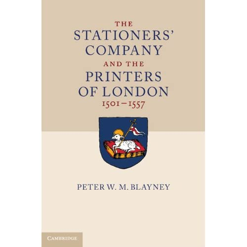 The Stationers' Company and the Printers of London, 1501–1557 2 Volume Hardback Set