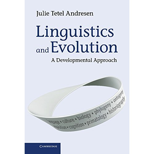 Linguistics and Evolution: A Developmental Approach