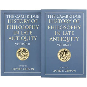 The Cambridge History of Philosophy in Late Antiquity 2 Volume Paperback Set
