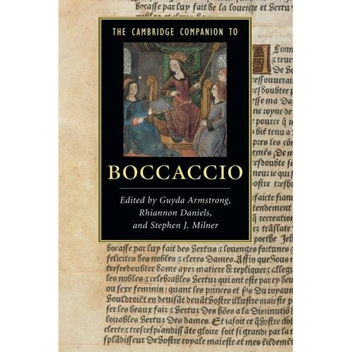 The Cambridge Companion to Boccaccio (Cambridge Companions to Literature)
