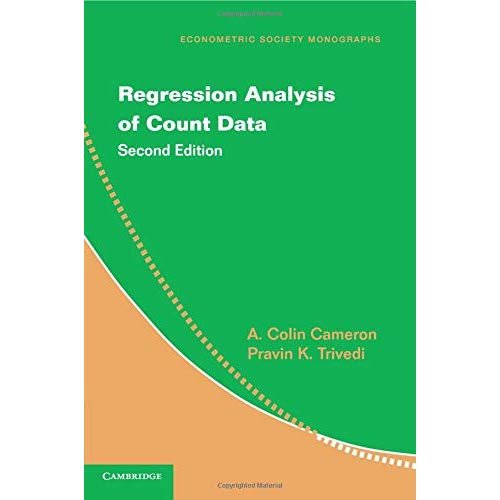 Regression Analysis of Count Data (Econometric Society Monographs)