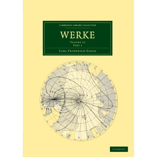 Werke: Part 1 (Cambridge Library Collection - Mathematics)