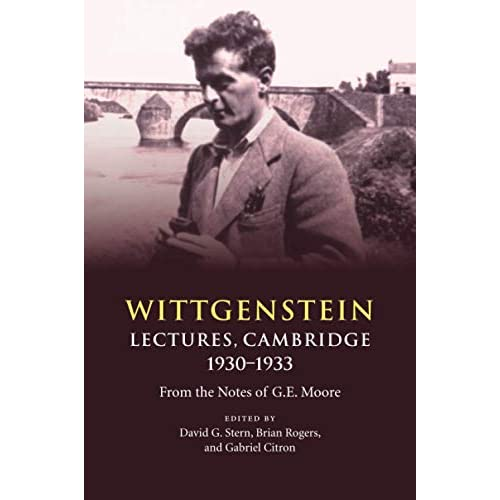 Wittgenstein: Lectures, Cambridge 1930–1933