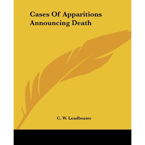 Cases of Apparitions Announcing Death