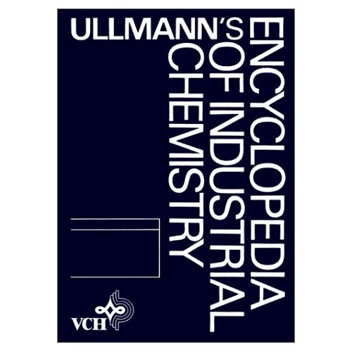 Ullmann's Encyclopedia of Industrial Chemistry: Silicon Compounds, Inorganic to Starch and Other Polysaccharides v. A24 (Ullmann's Encyclopedia of Industrial Chemistry 5th ed Vol a)