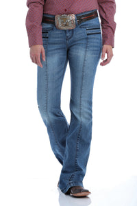 CINCH Women's Trouser Lynden Jean - Medium Stonewash