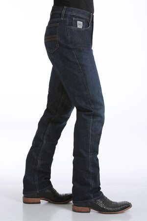 CINCH Men's Slim Fit Silver Label Jean - Dark Stonewash