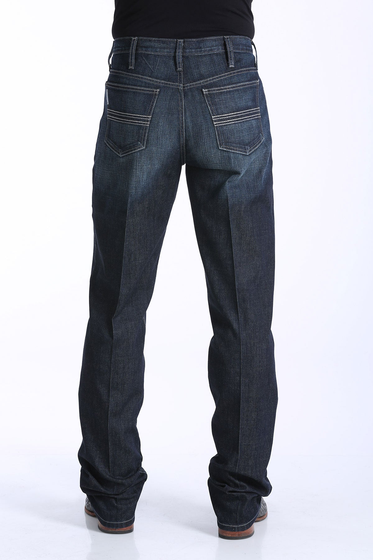 CINCH Men's Silver Label Performance Denim - Dark Rinse