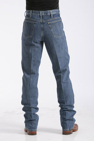 CINCH Men's Slim Fit Bronze Label Jean - Dark Stonewash