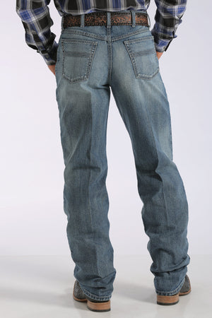 CINCH Men's Loose Fit Black Label 2.0 Jean - Medium Stonewash
