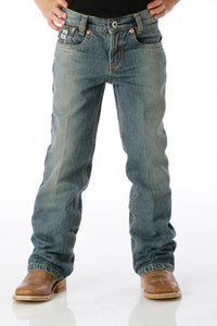 CINCH Boy's Low Rise Medium Stone Jeans (Slim/Regular)