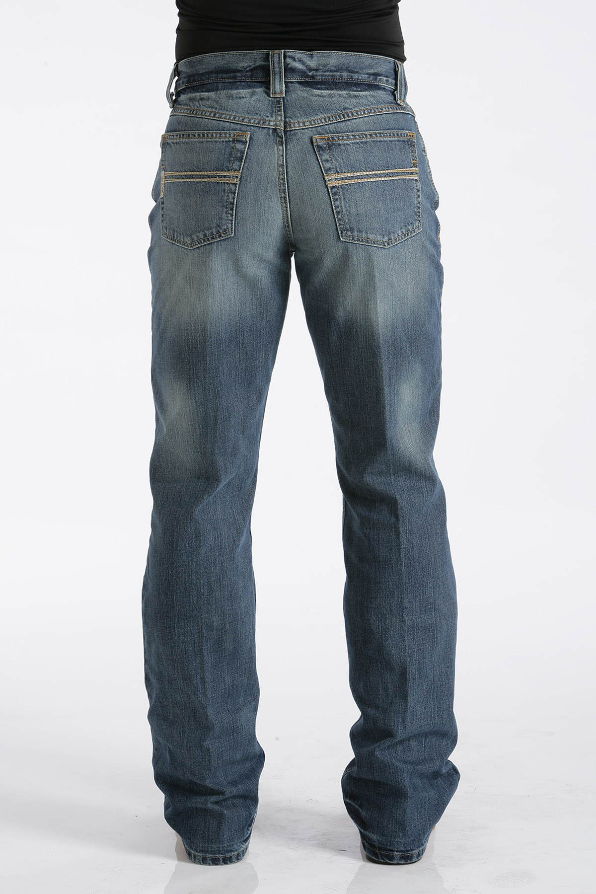 CINCH Men's Relaxed Fit Carter Jean - Medium Stonewash