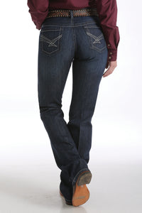 CINCH Women's Ada Relaxed Fit Dark Stonewash