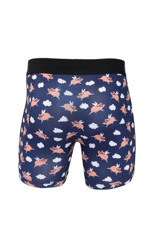 CINCH Men's When Pigs Fly Boxer