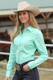 Cinch SOLID GREEN BUTTON-DOWN WESTERN SHIRT