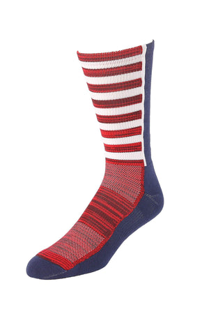 CINCH Men's Stars and Stripes Crew Socks