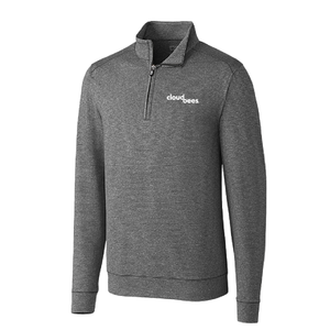 Men's Cutter & Buck Shoreline 1/2 Zip (AP)