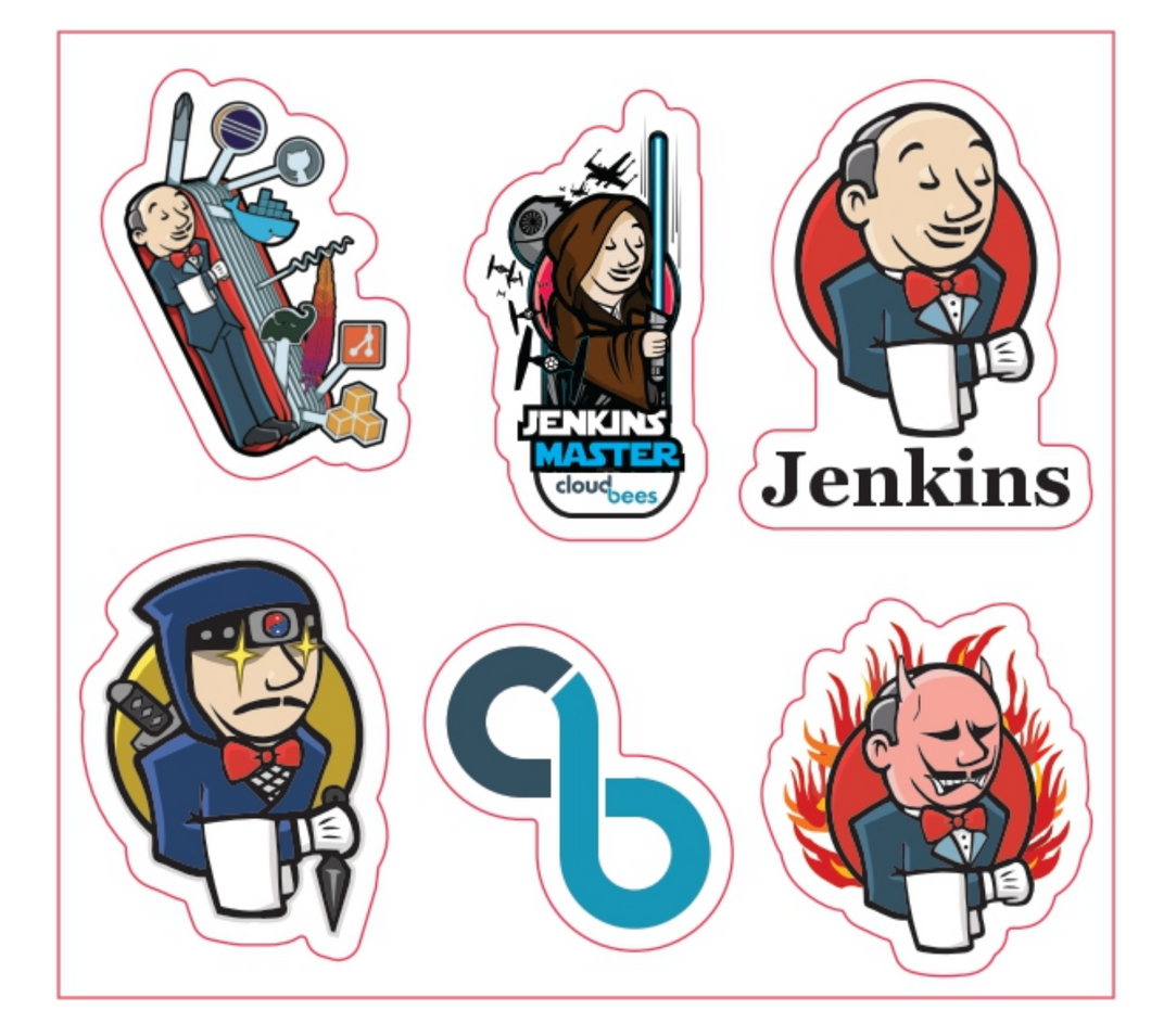 Jenkins® Sticker Sheet
