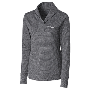 Women's Cutter & Buck Shoreline 1/2 Zip (AP)