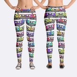 Retro Cassette Tape Leggings