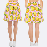 Women's Kawaii Lemon Skirt