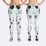 Tribal Wolf Leggings