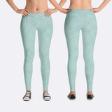 Mermaid Scales Fantasy Leggings