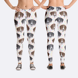 German Shorthair Pointer GSP Dog Breed Leggings